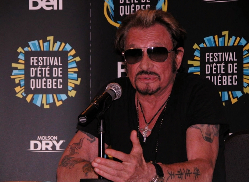 Johnny Hallyday, Quebec, Canada, Afrique, France, Belgique, Jimmy Hendrix