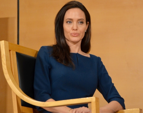 Angelina Jolie, UNHCR, SERGIO DE MELLO, NATIONS UNIES, REFUGEES,  HUMAN RIGHTS