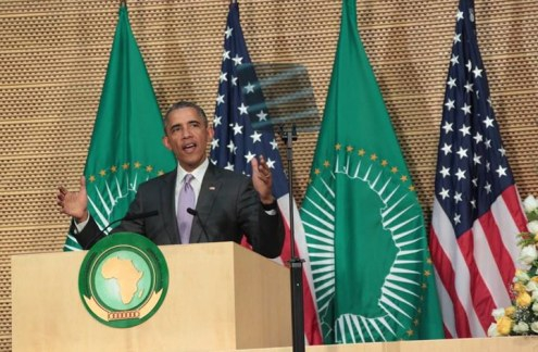 OBAMA, AFRICAN UNION, HALL MANDELA, ADDIS ABEBA, KENYA, ETHIOPIE